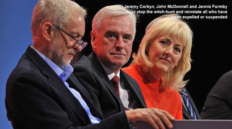 Corbyn, McDonnell, Formby