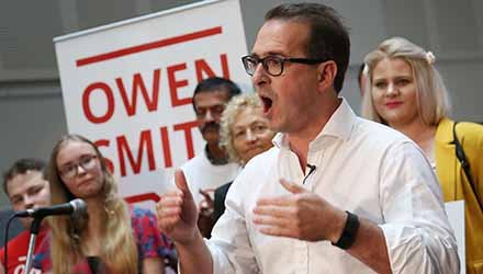 Owen Smith: hardly radical