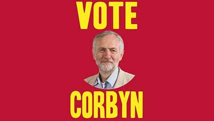 Jeremy Corbyn 2015 - candidate for Labour Party leader