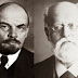 Vladimir Lenin, seconder, and Karl Kautsky, proposer, of the Labour Party's admission to the Socialist International in 1908