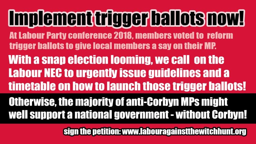 implement trigger ballots meme