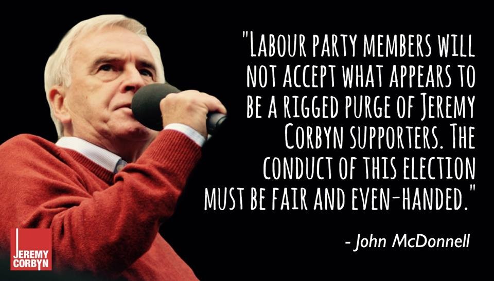 reverse the Labour purges