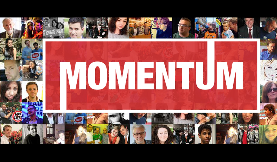 Discussion papers from Momentum on the future of the organisation