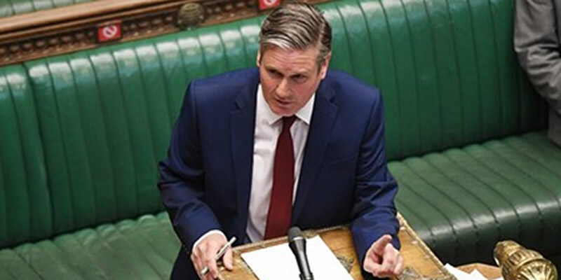 Starmer in Parliament